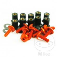 FAIRING BOLTS JMP-PRO BOLT M5 ALUMINIUM ORANGE