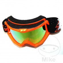 GOGGLES MULTILAYERED 3204 FLUO RED/YELLOW