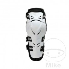 KNEE/SHIN GUARD JUNIOR ELBOW GUARD ADULT .WHITE POLISPORT