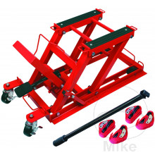 HYDRAULIC MOTORCYCLE CENTRE JACK 400KG CAPACITY