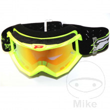 GOGGLES MULTILAYERED 3205 FLUO YELLOW/RED