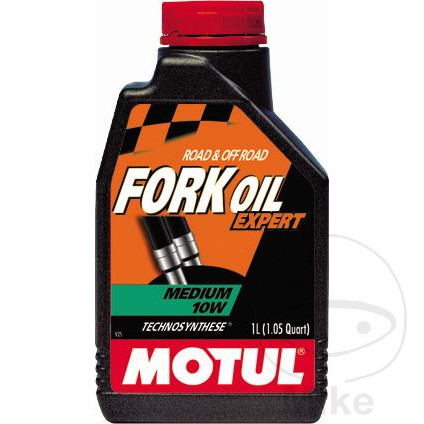 FORK OIL 10W 1L MOTUL SEMI-SYNTH MED 7140159